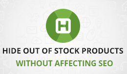 Hide Out of Stock Products - without affecting seo