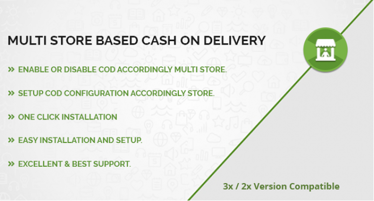 Multi Store Based Cash on Delivery