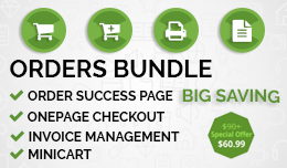 Orders / Checkout Related Extensions Bundle.