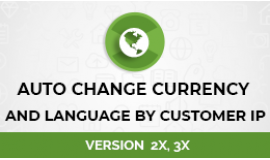 Auto Change Currency And Language By Customer IP