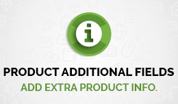 Product Additional fields