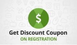 Get Discount Coupon On Registration